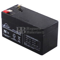 Bateria AGM 12 Voltios 1.2 Amperios 97x43x52mm LEOCH LP12-1.2