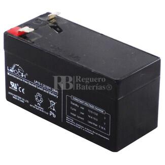Bateria LEOCH LP12-1.2 AGM 12 Voltios 1.2 Amperios 97x43x52mm
