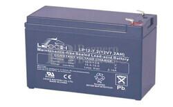 Bateria LEOCH LP12-7.2 AGM 12 Voltios 7.2 Amperios 151x65x94.5mm