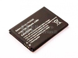 Batería LG L70, D320, Li-ion, 3,8V, 1800mAh, 6,8Wh
