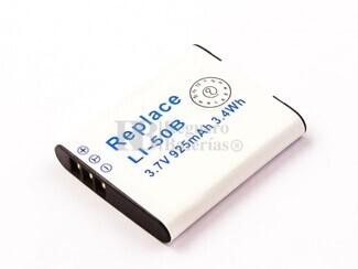 Batería LI-50B para cámaras Olympus, Pentax, Casio, Panasonic