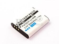 Bateria LI-90B, Li-ion, 3,7V, 950mAh, 3,5Wh para camaras OLYMPUS