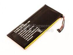 Batería LIS1460HEPC para SONY PRS-950, Li-Polymer, 3,7V, 1900mAh, 7,0Wh