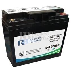 Batería Litio 12,8 Voltios 18 Amperios LiFePO4