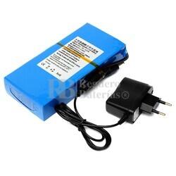 Batería Litio 12 Voltios 12 Amperios recargable Litio-Ion 144 Watios con cargador