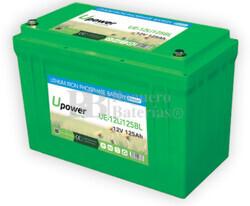 Batería Litio Bluetooth 12 Voltios 125 Amperios UE-12Li125BL
