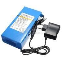 Batería Litio 12 Voltios 15 Amperios recargable Litio-Ion 180 Watios con cargador