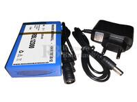 Batería Litio 12 Voltios 3 Amperios recargable Litio-Ion 36 Watios con cargador