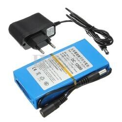 Batería Litio 12 Voltios 6.8 Amperios recargable Litio-Ion 81 Watios con cargador