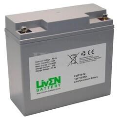 Batería Litio Bici Eléctrica 12 Voltios 18 Amperios