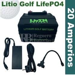 Batería Litio Carro de Golf 12 Voltios 20 Amperios