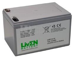 Batería Litio para Bici Eléctrica 12 Voltios 15 Amperios