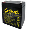 Bateria LONG AGM de 12 Voltios 5 Amperios WP5-12 90x70x101 mm