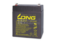Bateria LONG AGM de 12 Voltios 4,5 Amperios WP4.5-12 90x70x101 mm