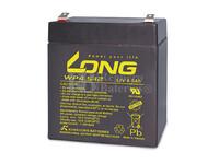Bateria LONG AGM de 12 Voltios 4,5 Amperios WP4.5-12 90x70x101 mm