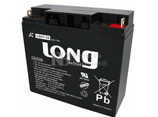 Batería de Gel 12 Voltios 17 Amperios LONG LG17-12