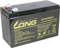 Batería 12 Voltios 9 Amperios Long WP1236W