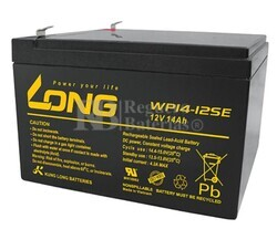 Batería Long WP14-12SE 12 Voltios 14 Amperios