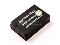 Batería LP-E12 para Canon EOS 100D, EOS M, EOS M2, EOS Rebel SL1
