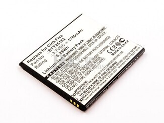 Bateria Mobistel Cynus T5, Li-ion, 3,7V, 1700mAh, 6,3Wh