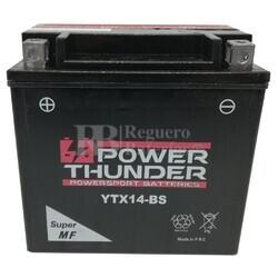 Batería Moto 12 Voltios 12 Ah Power Thunder YTX14-BS