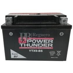 Batería Moto 12 Voltios 8 Ah Power Thunder YTX9-BS