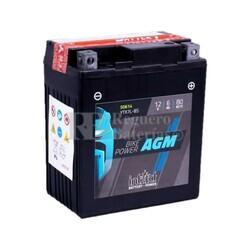 Batería Moto AGM YTX7L-BS Intact 12 Voltios 6 Amperios