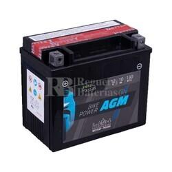 Batería Moto AGM YTX12-BS Intact 12 Voltios 10 Amperios