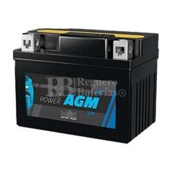 Batería Moto AGM YTX12A-BS YT12A-BS Intact 12 Voltios 10 Amperios
