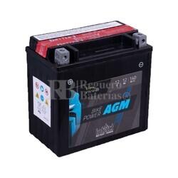 Batería Moto AGM YTX14-BS Intact 12 Voltios 12 Amperios