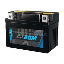 Batería Moto AGM YTX14AHL-BS Intact 12 Voltios 12 Amperios