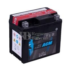 Batería Moto AGM YTX5L-BS Intact 12 Voltios 4 Amperios