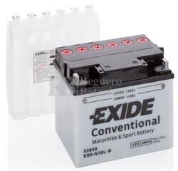 Batería Moto E60-N30L-B Exide 12V 30A