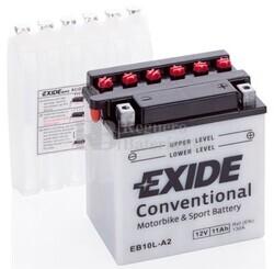 Batería Moto EB10L-A2 Exide 12V 11A