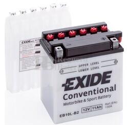 Batería Moto EB10L-B2 Exide 12V 11A