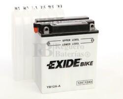 Batería Moto EB12A-A Exide 12V 12A