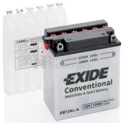 Batería Moto EB12AL-A Exide 12V 12A