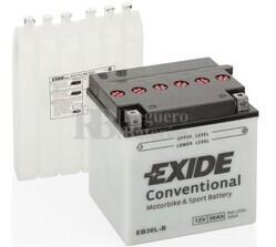 Batería Moto EB30L-B Exide 12V 30A