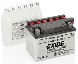 Batería Moto EB4L-B Exide 12V 4A