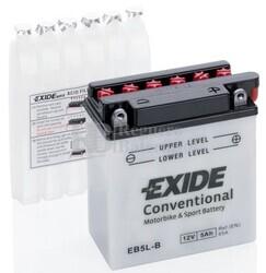 Batería Moto EB5L-B Exide 12V 5A