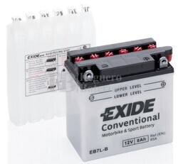 Batería Moto EB7L-B Exide 12V 8A