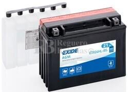 Batería Moto ETX24HL-BS Exide 12V 21A