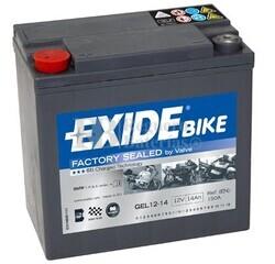 Batería Moto GEL12-14 Exide 12V 14A