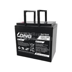 Batería Movilidad Gel 12 Voltios 55 Amperios LG55-12