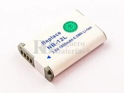 Bater�a NB-12L para Canon Li-ion, 3,6V, 1800mAh, 6,5Wh