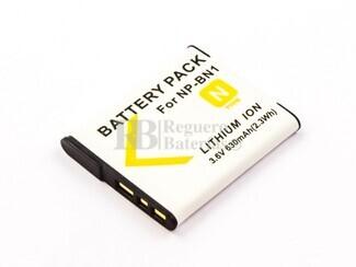 Batería NP-BN1, para cámara digital Cyber-shot DSC-J20, Cyber-shot DSC-T110