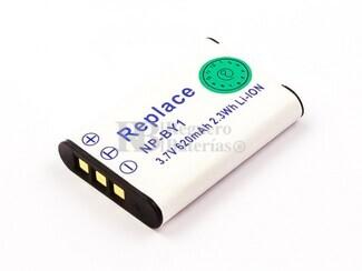 Bateria NP-BY1, Li-ion, 3,7V, 620mAh, 2,3Wh, para camaras Sony