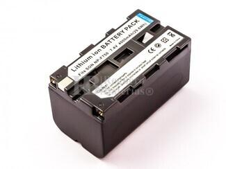 Bateria NP-F750, NP-F770, Li-ion, 7,4V, 4000mAh, 29,6Wh, para camaras Sony