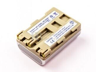 Batería NP-FM50, NP-QM51, Li-ion, 7,2V, 1500mAh, 10,8Wh, silver, para camaras Sony
