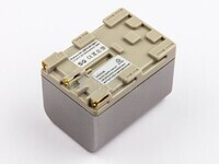 Batería NP-FM70, NP-QM71, Li-ion, 7,2V, 3000mAh, 21,6Wh, silver para camaras Sony
